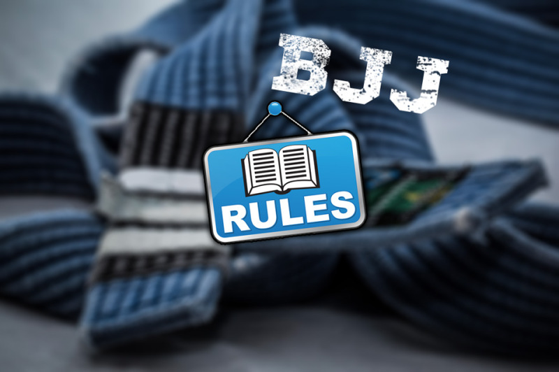 Brazilian Jiu Jitsu basic rules you have to know