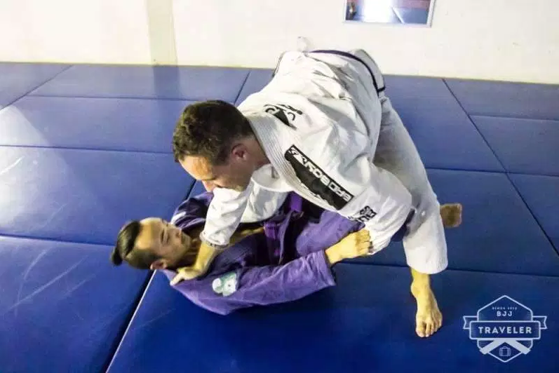 Training BJJ in Chiang Mai